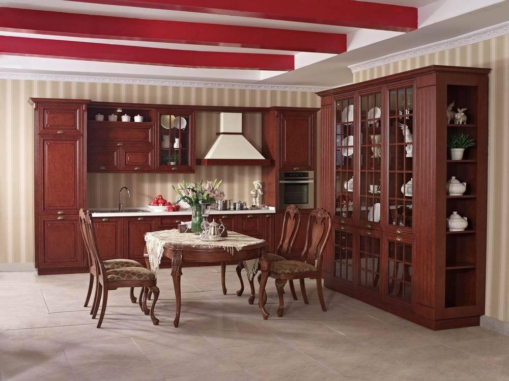 2017 Free Design Custom American Solid Wood Cabinet