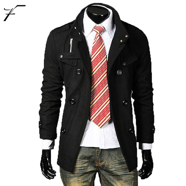 Aliexpress.com : Buy New Arrival Pea Coat Fashion Designer Mens