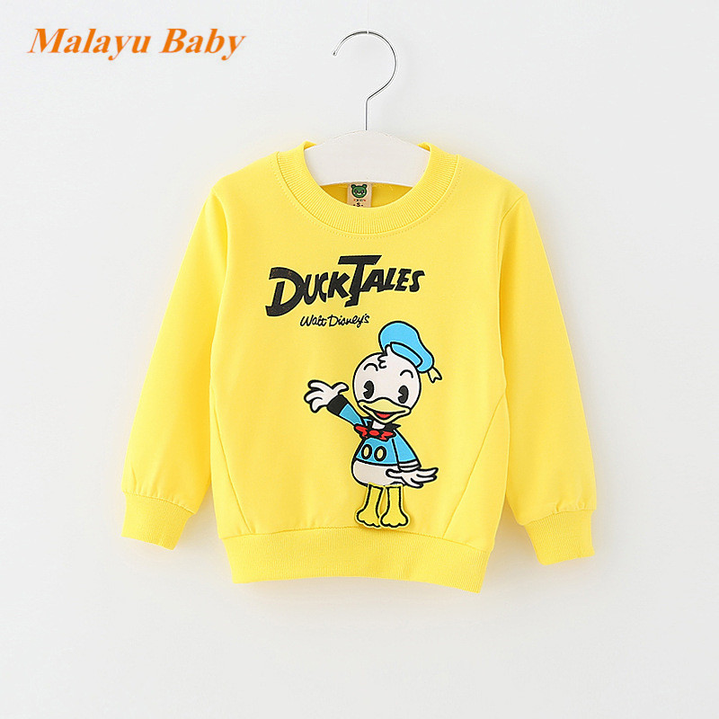 Malayu-Baby-2017-Autumn-Infant-Cotton-Cartoon-Sweater-Baby-Boy-Girl-Donald-Duck-Mimi-Print-Long-Sleeve-Fashion-0-2-years-baby-3