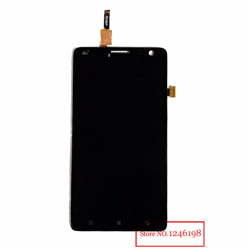 TOP Quality Full LCD Display Touch Screen Digitizer Assembly For Lenovo S856 S810t Replacement Black Free shipping + Track NO