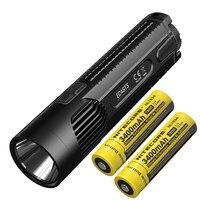Kostenloser Versand NITECORE EC4GTS 1800 Lumen Taschenlampe mit 2x18650 Batterien Outdoor Camping Taschenlampe Hohe Leistung Suchscheinwerfer-in LED-Taschenlampen aus Licht & Beleuchtung bei