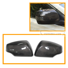 Carbon Mirror Caps OEM Fitment Side Mirror Cover for Subaru Legacy 2012 UP Forester 2013 UP XV 2012 UP 1:1Replacement