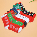 NEW Fashion Women's Snowflake Deer Printed Cotton Casual Socks Ladies Female Girl Men Christmas Gift Hosiery Size EUR 35-42