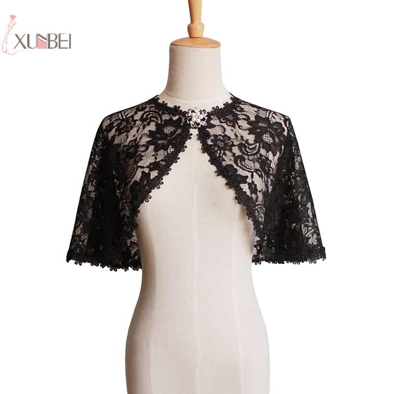 Sexy Elegant Lace Women Wedding Bridal Bolero Shrug Wrap Shawl Jacket Cape Stole Coat Wedding Accessories