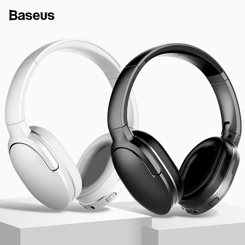 Baseus D02 Wireless Headphone Bluetooth 5.0 Earphone Handsfree Headset For Ear Head Phone iPhone Xiaomi Huawei Earbuds Earpiece grille