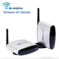 150M 2 4G AV Sender Wireless Transmitter Receiver Audio Video TV Transmitter For DVD STB DVR
