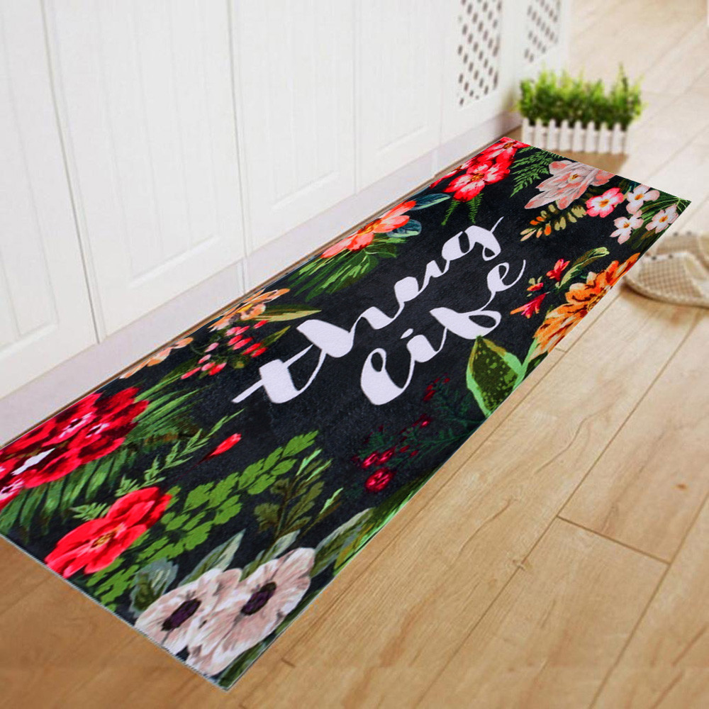 Hot Sale 60180CM Non Slip Mat Dining Room Carpet Shaggy Soft Area Rug Bedroom