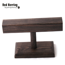 Free Shipping Diy Wood Display Party T Bar Watch Bracelet Jewelry Stand Holder