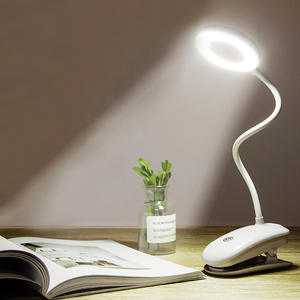 Dimmable USB Light Desk-Lamp Eye-Protection Rechargeable Touch-On/off-Switch 3-Modes