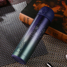 GODWJ New Double Wall Stainless Steel Vacuum Flasks 500ml Thermos Cup Coffee Tea Milk Travel Mug Thermo Bottle Gifts Thermocup 500ml stainless steel double wall insulated thermos cup vacuum flasks water bottle thermo coffee mug quality travel