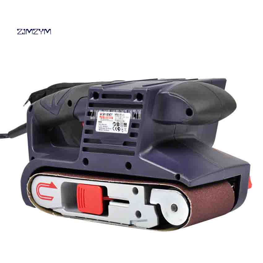 ZJMZYM Portable 900W Electric Desktop Belt Machine Grinder Household Multi-function Polishing Machine 200v/50-60HZ 160-340r/minZJMZYM Portable 900W Electric Desktop Belt Machine Grinder Household Multi-function Polishing Machine 200v/50-60HZ 160-340r/min