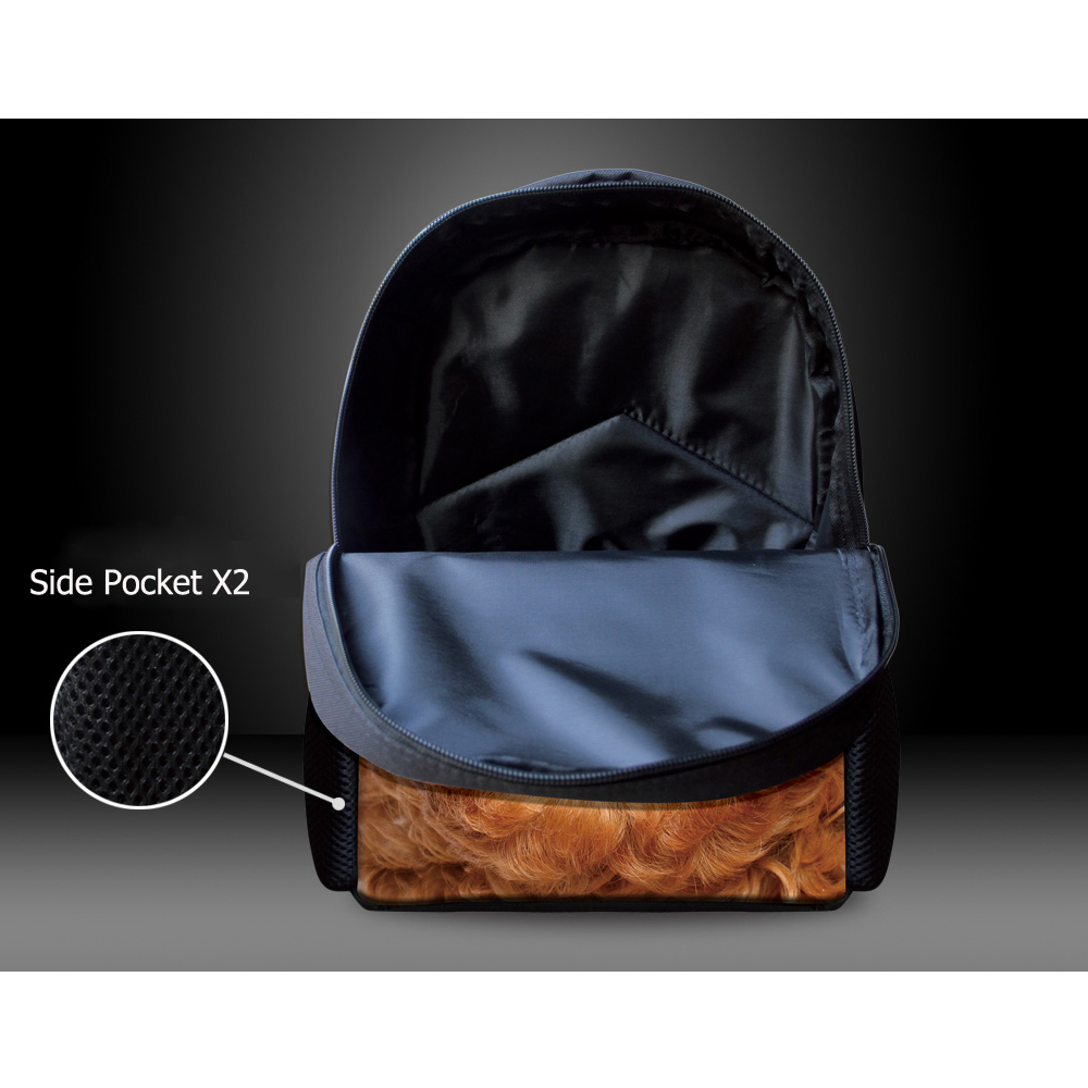 3d livro da escola dos Item : Toddler Canvans Backpack
