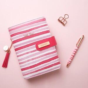 NEVER Stationery Pink Line Spi