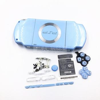 5Pcs/Lot For PSP2000 PSP 2000 Old Version Game Console replacement Full Housing Shell Cover Case With Buttons Kit