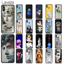 Lavaza Vintage Plaster Statue David Art Soft TPU Case for Xiaomi Redmi Note 5 6 7 Pro 5A 6A S2 Plus Silicone Cover