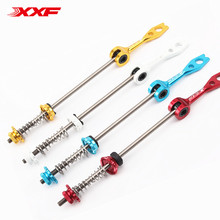 2018 Special Offer Titanium Material Quick Release Skewers for Road bike Titanio Ultra Light Ti Hub QR Skewers 58g/Pair