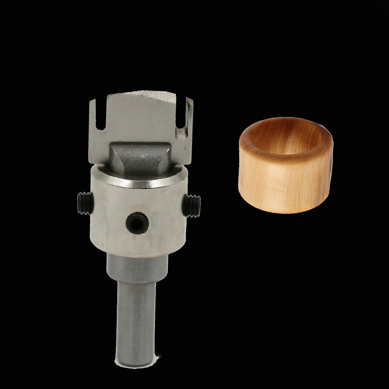 Milling Cutter For Wood Router Bit Finger Ring Knife Peace Buckle Cutter DIY Woodworking Tools Wooden Ring Drill Fresas Para CNC tungsten alloy steel woodworking router bit buddha beads ball knife beads tools fresas para cnc freze ucu wooden beads drill