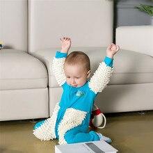 Baby jumpsuit one-piece mop suit baby onesies romper children's clothing zipper