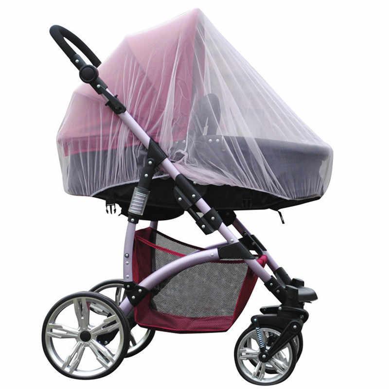 Coxeer Segura Bebê Berços Portadores Insect Bug Mosquiteiro Para Carrinho De Bebé Cama de Dossel compensação Com Cobertura Completa Ciel De Lit Rosa Azul