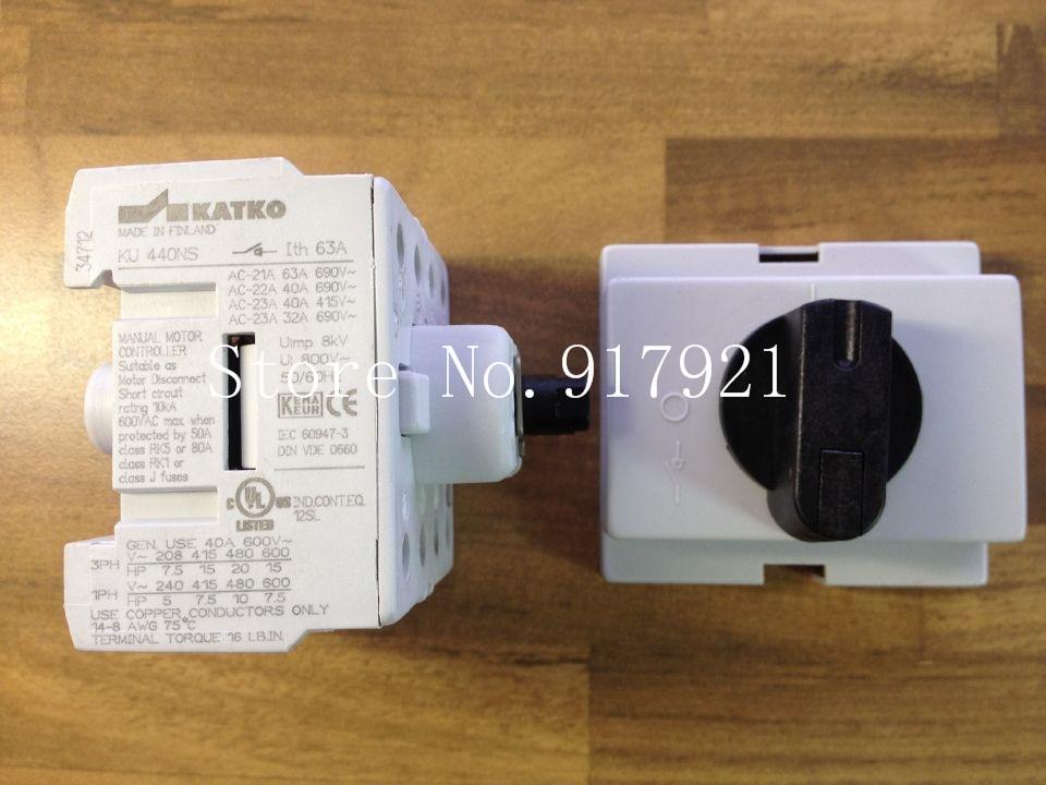 [ZOB] KATKO KU440NS 63A 4P63A import / switch load switch / switch / safety switch [zob] hagrid eh771 timer switch 1 channel cycle timer switch control switch import import