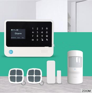Big discount G90B Plus Wifi Alarm System Smart Home Alarm System GPRS GSM WIFI alarm system for Home Security Protection With Ap 433mhz g90b intruder home alarm wireless security gprs gsm wifi alarm system with pir motion sensor wireless smoke detector