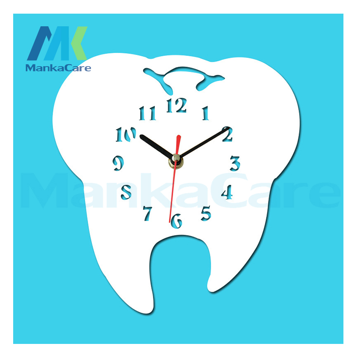 8inch And 12inch Tooth Design Clock Tooth Dentistry Wall