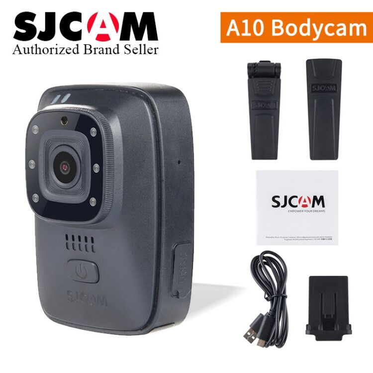 все цены на 2018~ SJCAM A10 (M40) Portable Body Camera Wearable Infrared Security Camera IR-Cut Night Vision Laser Positioning Action Camera онлайн