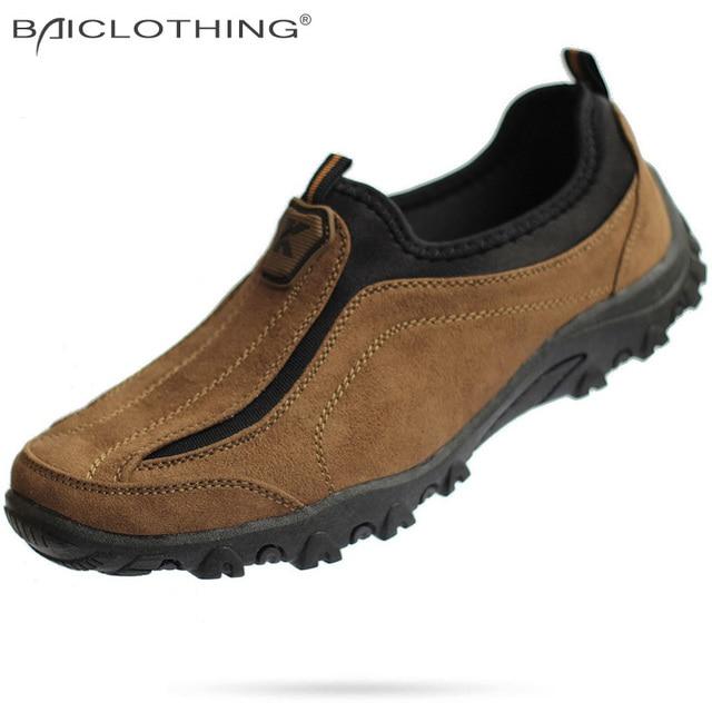 Плюс Размер 39-44 Мужская Обувь 2016 Весна Осень Мода Ткань Ткань Повседневная Обувь Дышащая Открытый Мокасины туфли-на Плоской Подошве