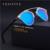 VESITIVE Поляризованные Солнцезащитные Очки Мужчины Женщины Марка Дизайнер Бабочка Сплав frame Специальностей поляроидный Солнцезащитные Очки Óculos UV400