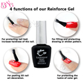 1pc Reinforce Gel 8ml Long Lasting TP Brand Gel Clear Soak-Off UV Gel Nail Art Polish Color Protect&Thicken Nails Manicure Tools