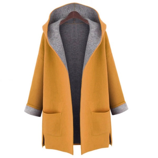 2016-Autumn-Winter-Female-trench-coat-Fashion-Dust-Pocket-Coat-Woman-pink-loose-long-hooded-cardigan (1)