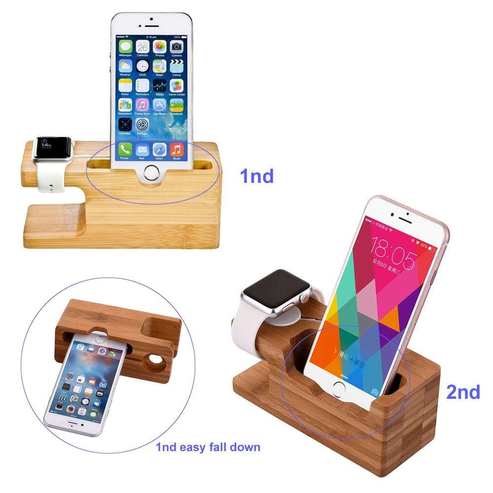 2in1 փայտանյութ լիցքավորող նավահանգիստ - Բջջային հեռախոսի պարագաներ և պահեստամասեր - Լուսանկար 2