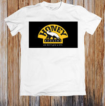 HONEY BADGERS UNISEX T-SHIRT New T Shirts Funny Tops Tee New Unisex Funny High Quality Casual Printing 100% Cotton цены