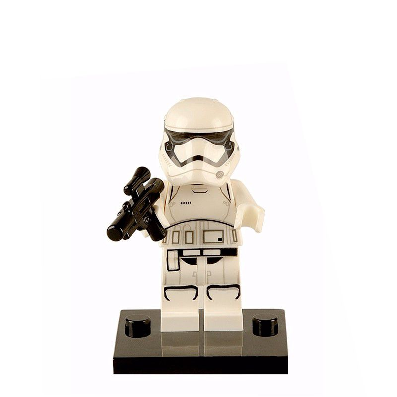 Toys & Hobbies Single Sale Star Wars Clone Troopers Soldiers Imperial Army Military Mini Building Blocks Figure Toy Kids Gift Compatible Legoed Pure White And Translucent Model Building
