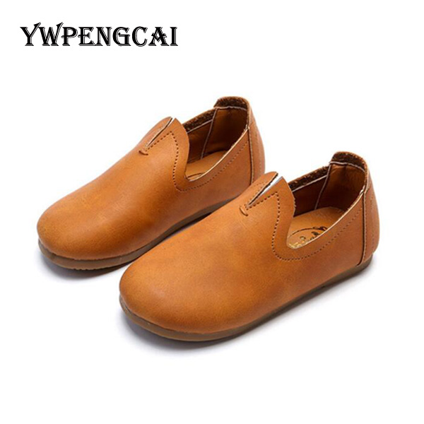 2018 Spring Children Simple Style School Shoes Girls Soft Breathable Slip-on Casual Shoes #7FS0330