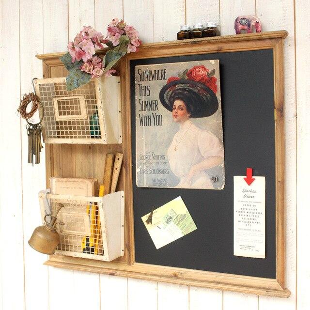 Goede Cafe bar hause wand dekor vintage 2 tier drahtkorb stil NJ-26