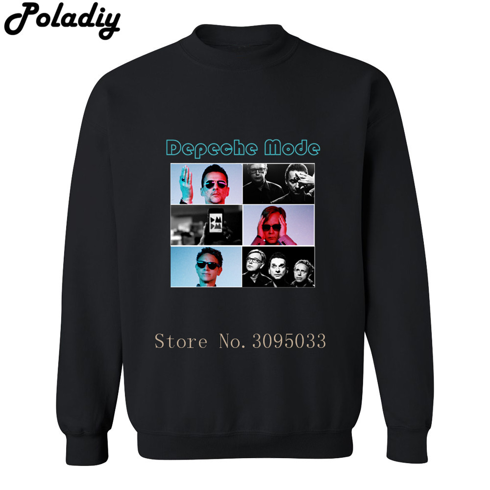 Depeche Mode Rock Band Music Autumn Fashion Brand Hoodies Streetwear Pullover Men Hoodie ...