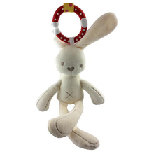 Baby Rattle Plush Toy Rabbit Stroller Wind chimes Hanging Bell Toy
