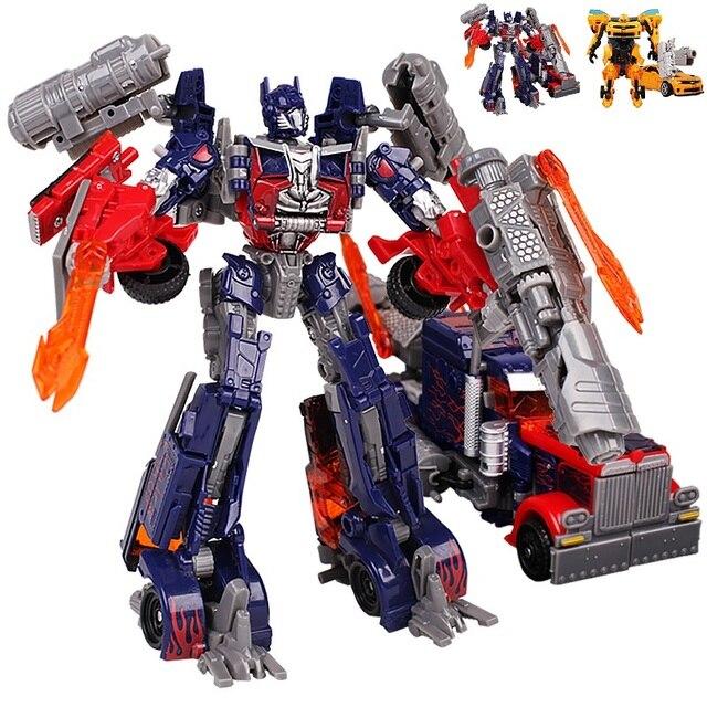 2 Стиль Optimus Prime/Шмель Трансформации Роботы VOYAGER Фигурки Классические Игрушки Для Детей Классические Игрушки Рождественский Подарок