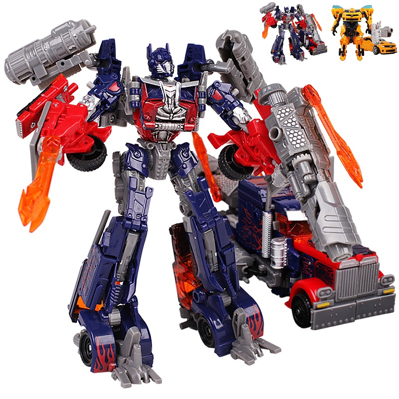 2Style <font><b>Optimus</b></font> <font><b>Prime</b></font>/Bumblebee <font><b>Transformation</b></font> Robots VOYAGER <font><b>Action</b></font> <font><b>Figures</b></font> Classic Toys For Children Classic Toy Christmas Gift