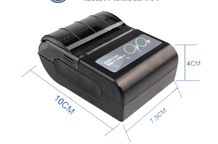 Wireless Android Bluetooth Thermal Printer 58mm Mini Bluetooth Thermal Receipt Printer - Bluetooth Android 58mm mini bluetooth printer android thermal printer wireless receipt printer mobile portable small ticket printer page 1