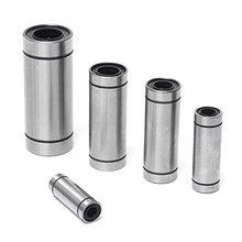 LML6UU LM8LUU LM10LUU LM12LUU 6mm 8mm 10mm 12mm Longer Linear Ball Bearing Bush Bushing Linear Bearings for 3d printer parts