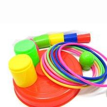 Красочные игрушки-головоломки для родителей и ребенка, игрушки-головоломки ручной глаз, многослойное кольцо с рукавом, детские игрушки головоломки