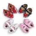 TongYouYuan Nueva Llegada de Cuero de LA PU Del Bebé Niñas Zapatos Dulces Ocasionales Newborn Infant Toddler Suela Blanda Flor Grande Mary Jane Shoes