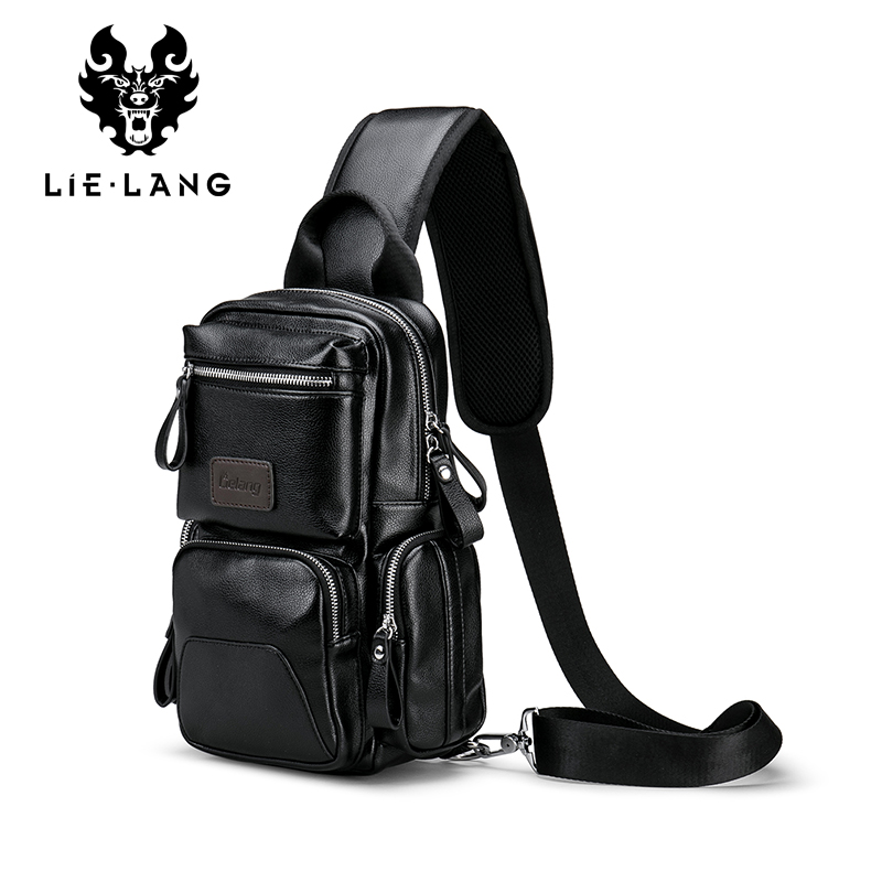 LIELANG Crossbody Bags for Men Messenger Chest Bag Pack Casual Bag Waterproof Nylon Single Shoulder Strap Pack 2018 New Fashion 2017 new hot men shoulder bag fashion nylon crossbody bag chest bags high quality man travel messenger bags