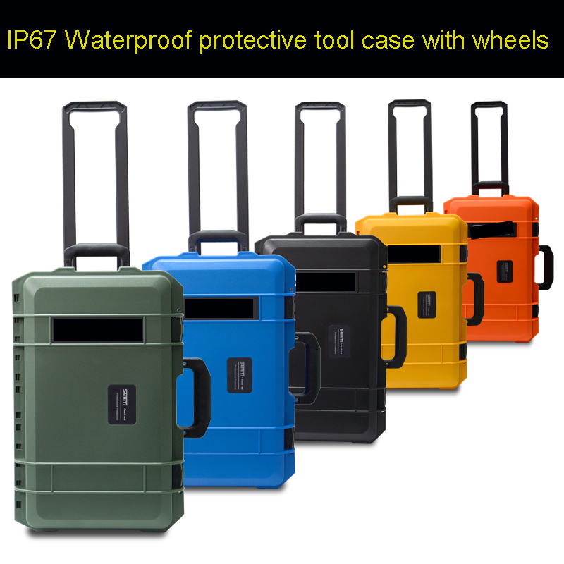High Quality Waterproof Protective Tool Case Multi-function Camera Equipment Tie Rod Aviation Hold-all Instrument Packing Box
