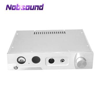 Nobsound Hi-End Aluminum ChassisVU Meter Headphone Amplifier Enclosure Box DIY