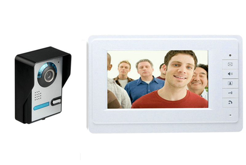 700TVL Rain-Proof 7 Inch TFT Monitor Video Door Phone 817-FA