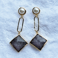 2019 Personality Geometry Female New Trendy women earrings pearl long fashion jewelry  drop trendy