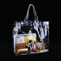 35 Длина x 30 высота x 10 глубина см прозрачная сумка пластиковая ПВХ Виниловая сумка доступна на заказ